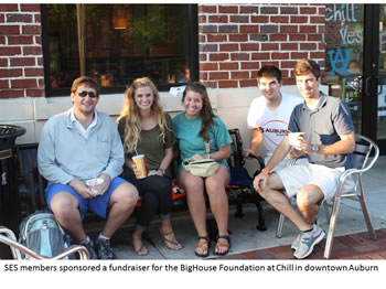 Chill Fundraiser participants