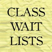 Class wait lists