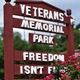 Community honors veterans with new park